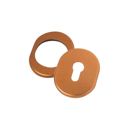 Oval escutcheon for defender 62x82 mm