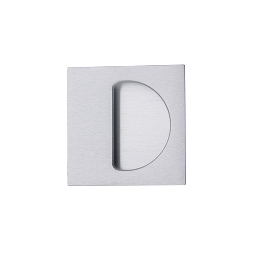 Sliding square semiclosed dummy handle