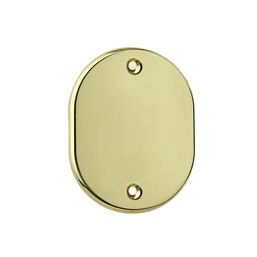 Oval dummy escutcheon 70x90 mm
